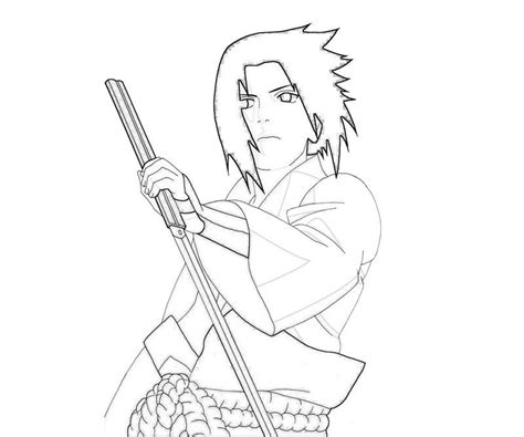 naruto coloring pages sasuke naruto coloring pages printable coloring home