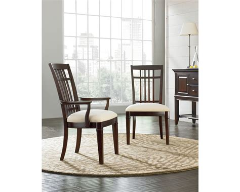 Thomasville Dining Chairs Discontinued Bridges 2 0 Side Chair Mocha Thomasville Furniture