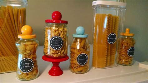 diy decorations pasta create decorative pasta jars diy home guidecentral