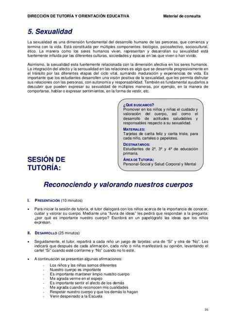 sesiones de tutoria tercer grado primaria2016 sesiones de tutoria para el tercer grado de primaria