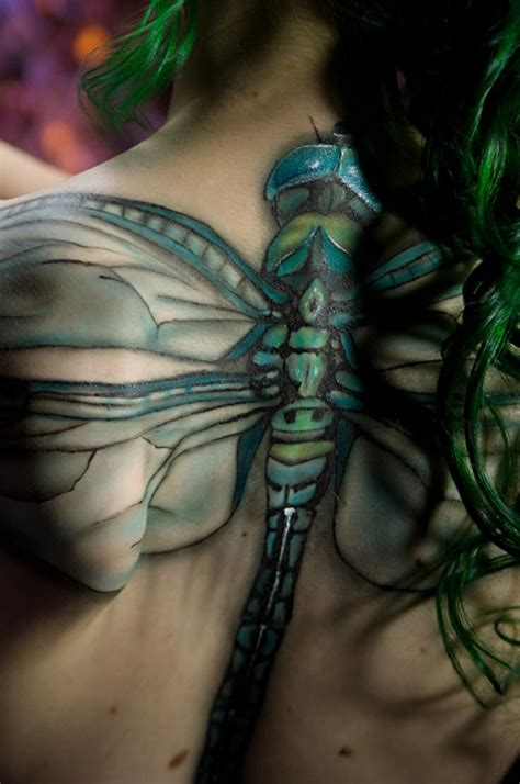 3d dragonfly tattoos tattooz unique 3d tattoos