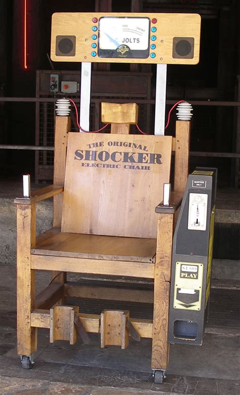 electric chair arcade to spursland and back again a foreigner s tale part 2