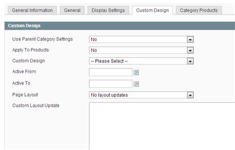 custom category template magento custom category page template dev notes