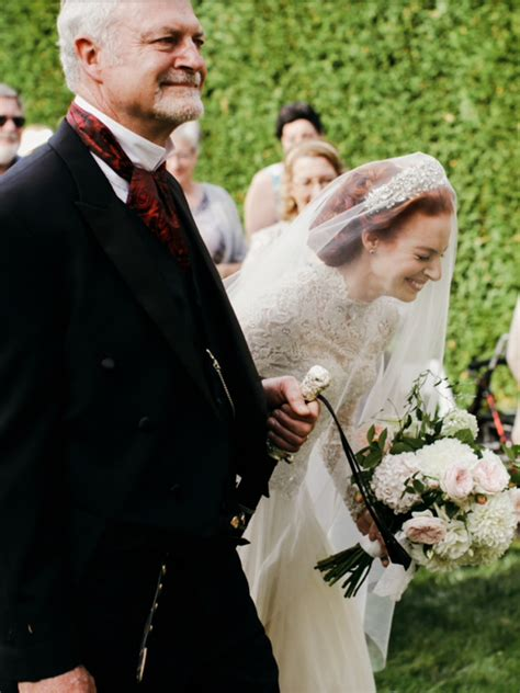 emma crying   dad shes  happy  marry lachy