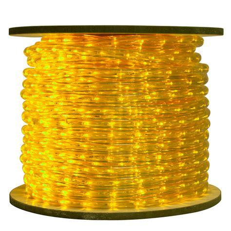 yellow rope light led ropelights