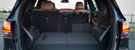 kia sorento cargo space 2019 kia sorento cargo space and interior volume