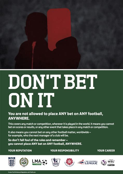 Dont Bet On It fa quits ladbrokes sponsorship deal after player betting