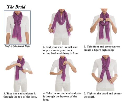 5 easy ways to tie a scarf the of scarf tying made