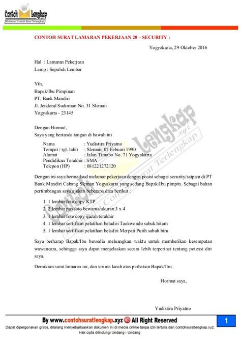 format surat lamaran kerja untuk s1 20 contoh surat lamaran kerja yang baik dan benar