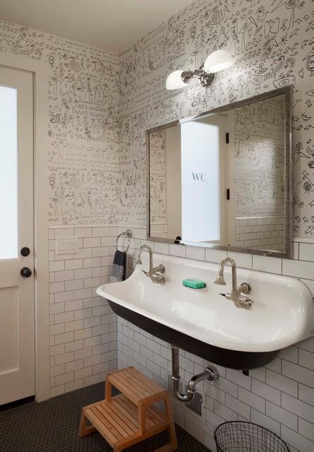bathroom farm sink modern farmhouse farmhouse bathroom san francisco by modern organic interiors