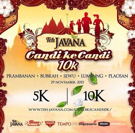 Teh Javana Di by Medali Lari Ketiga Run Candi Ke Candi Teh Javana Di