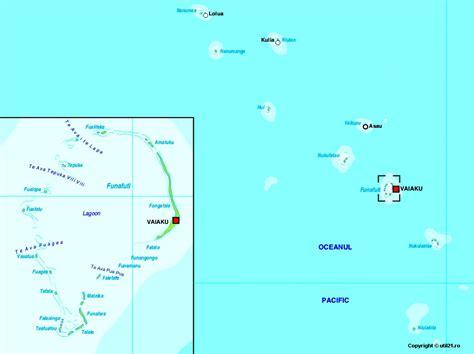 tuvalu on world map map of tuvalu maps worl atlas tuvalu map maps