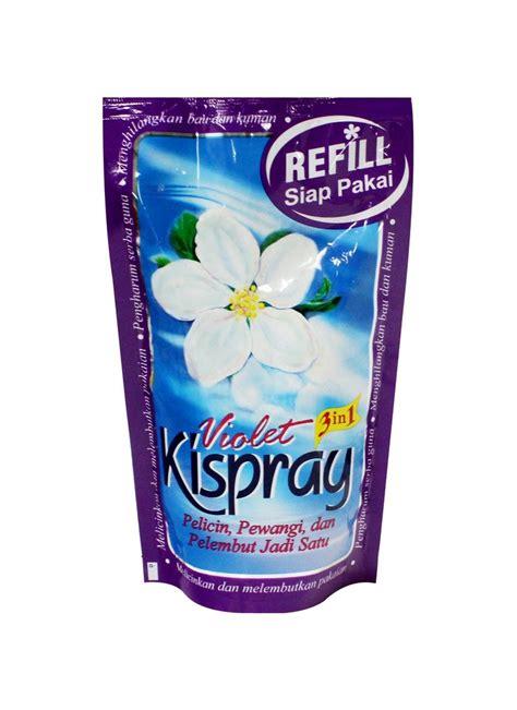 Kispray Bluis 4x24ml kispray pelicin pakaian violet pch 300ml klikindomaret
