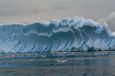 frozen waves frozen wave frozen wave iceberg carved by wind sea