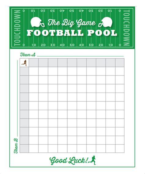 football pool template football pool template 21 free word excel pdf