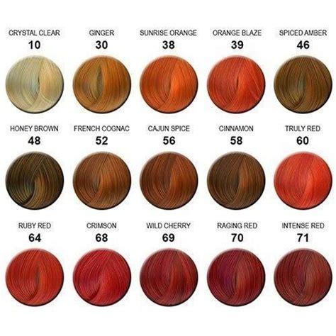 semi permanent hair color ginger orange creative image adore semi permanent hair color