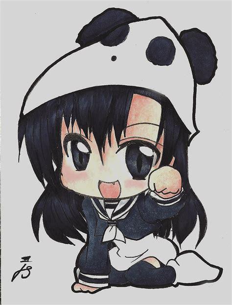 chibi panda www pixshark images