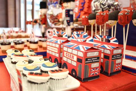 london party themes ideas paris london theme birthday party ideas photo 1 of 11