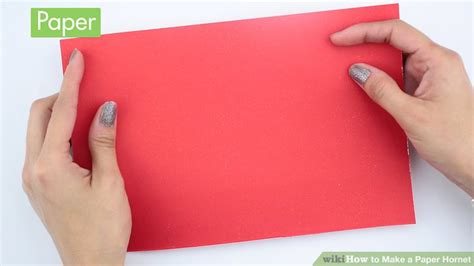 How To Make Paper Hornets - how to make a paper hornet 10 steps with pictures wikihow