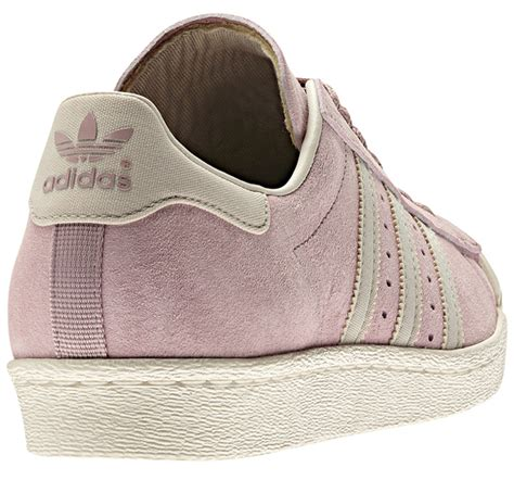 dusty 3 pink adidas originals superstar 80s quot dusty pink quot sneakernews