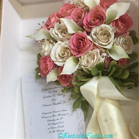 wedding bouquet keepsake ideas bouquet flower keepsake floral scrapbook 2324814 weddbook