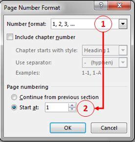cara membuat halaman terpisah di ms word cara membuat nomor halaman berbeda dalam satu dokumen di