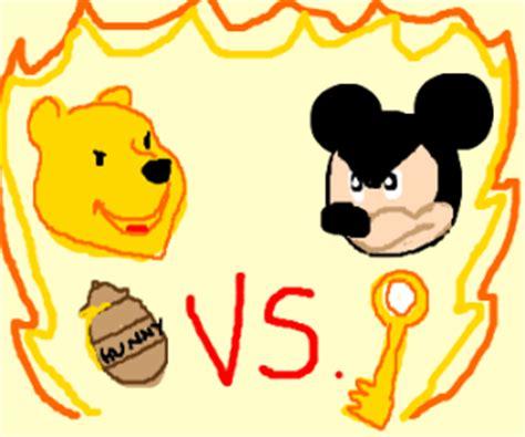 Mouse Tarik Winnie The Pooh mickey mouse vs winnie the pooh