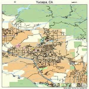yucaipa california map 0687042