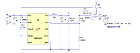 variable resistor using dac solutions positive to negative converter with variable output using ltc3630 and lt6015 lt6016