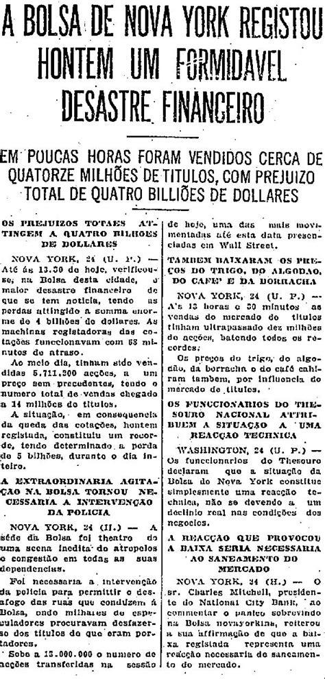 A 'quinta-feira negra' em 1929 que abalou a economia mundial