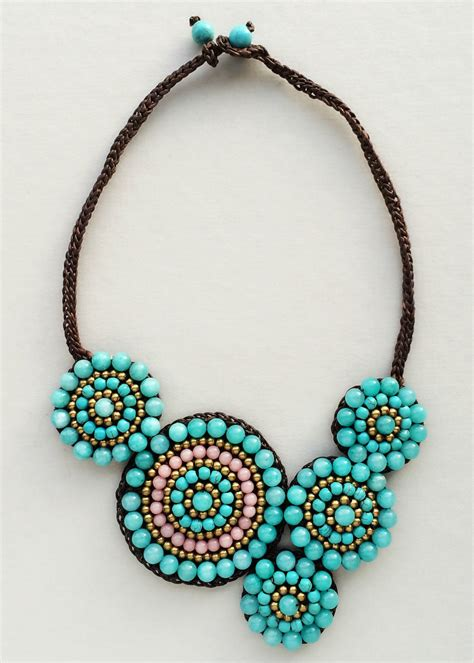 Handmade In Nyc - bohemian tribes necklace handmade in nyc pree brulee