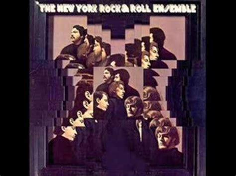 Newyork Rock the new york rock and roll ensemble mr tree 1968