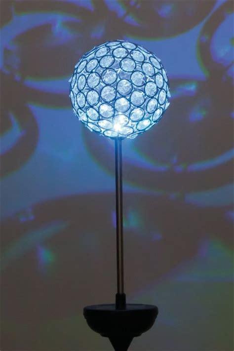 kristallkugeln tischleuchte solar erdspie 223 leuchte mila kristallkugel farbwechsel