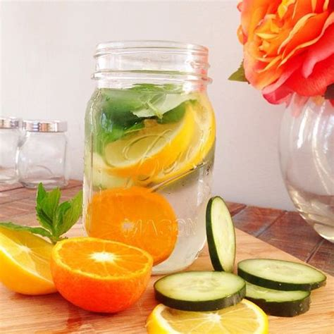 10 Best Detox Waters by 17 Beste Afbeeldingen Detox Recepten Op
