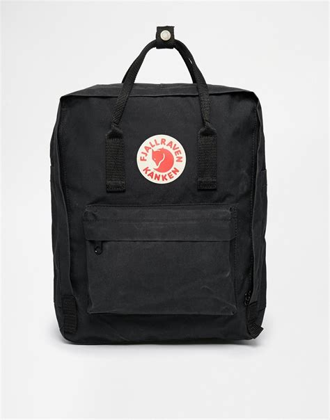 Fjallraven Kanken Backpack Classic Diskon fjallraven kanken classic black backpack black in black