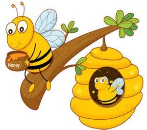 kids bumble bee and honey custom printed blinds kids