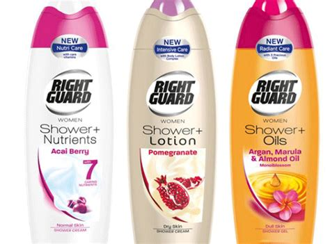 New Shower Gel by New Shower Gels Right Guard And The Dirt