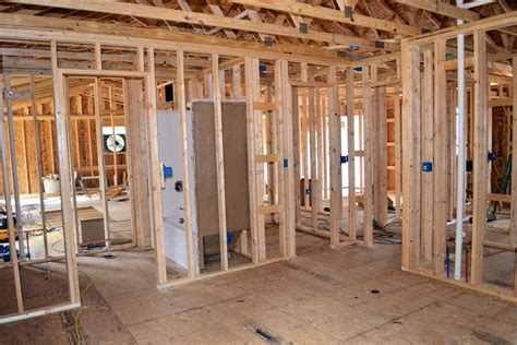 framing pictures inside framing plumbing wiring view from bedroom ak