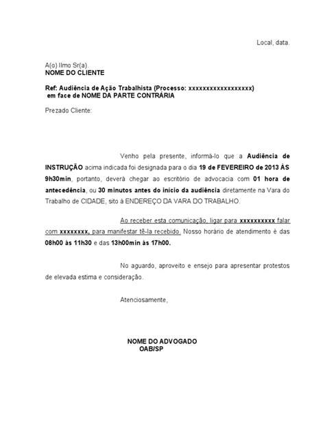 carta formal de pedido de audiencia modelo carta de audi 234 ncia
