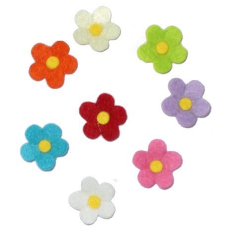 fiori feltro modelli decorazioni in feltro fiori 3 cm