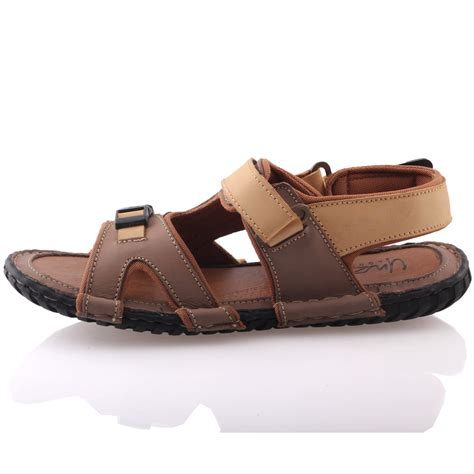 Comfortable Mens Sandals by Unze Mens Leather Kahn Comfortable Summer Sandals Uk Size