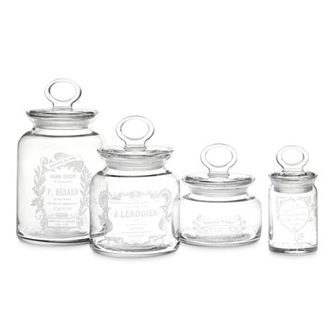 decorative kitchen canisters sets decorative canisters set of 4 williams sonoma
