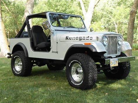 1985 Jeep Renegade Buy Used 1985 Jeep Cj7 Renegade Fresh Two Year Restoration