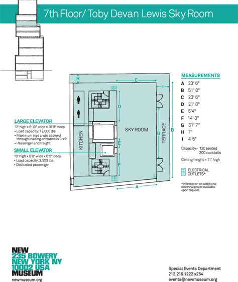 new museum floor plan space rental new museum