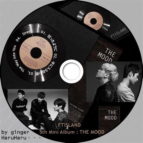 Ftisland The Mood haruharu ftisland 5th mini album cdラベル d e f