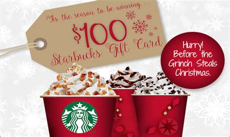 Win It 100 Starbucks Gift Card - enter to win a 100 starbucks gift card get it free