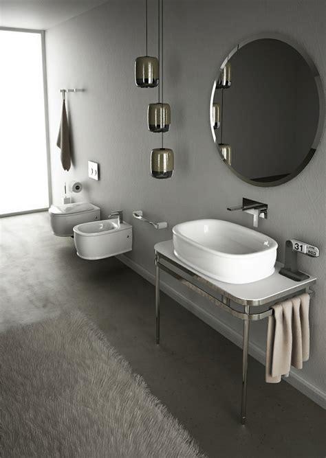 waschbecken retro design kleines badezimmer einrichten und modern ausstatten