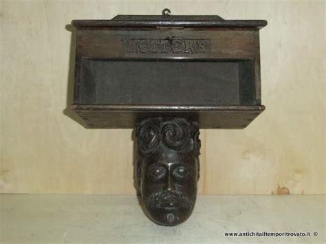 cassetta lettere legno antichit 224 il tempo ritrovato antiquariato e restauro