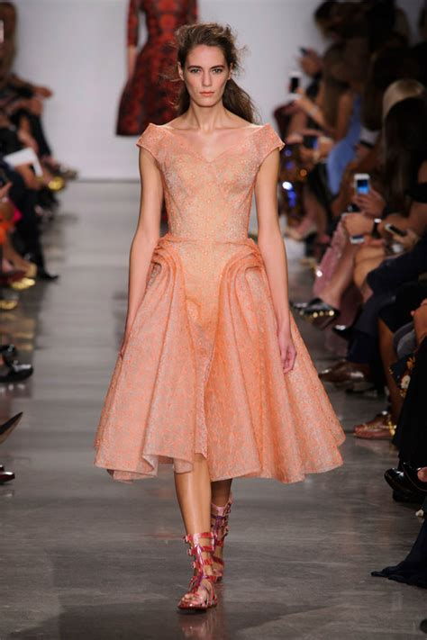 Catwalk To Carpet Bilson In Zac Posen by Zac Posen 2017 Collection Tom Lorenzo