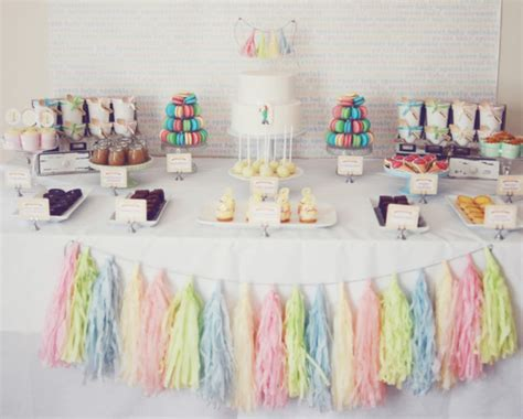 Pastel Baby Shower Decorations by Pretty Pastel Baby Shower Baby Shower Ideas Themes